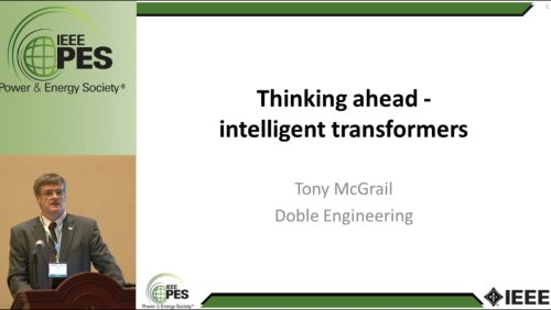 Thinking ahead - intelligent transformers (Video)