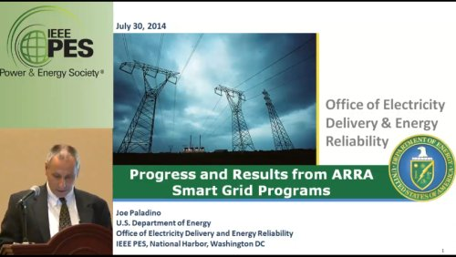 Progress and Results from ARRA Smart Grid Programs (Video)