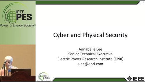 Cyber and Physical Security - EPRI (Video)