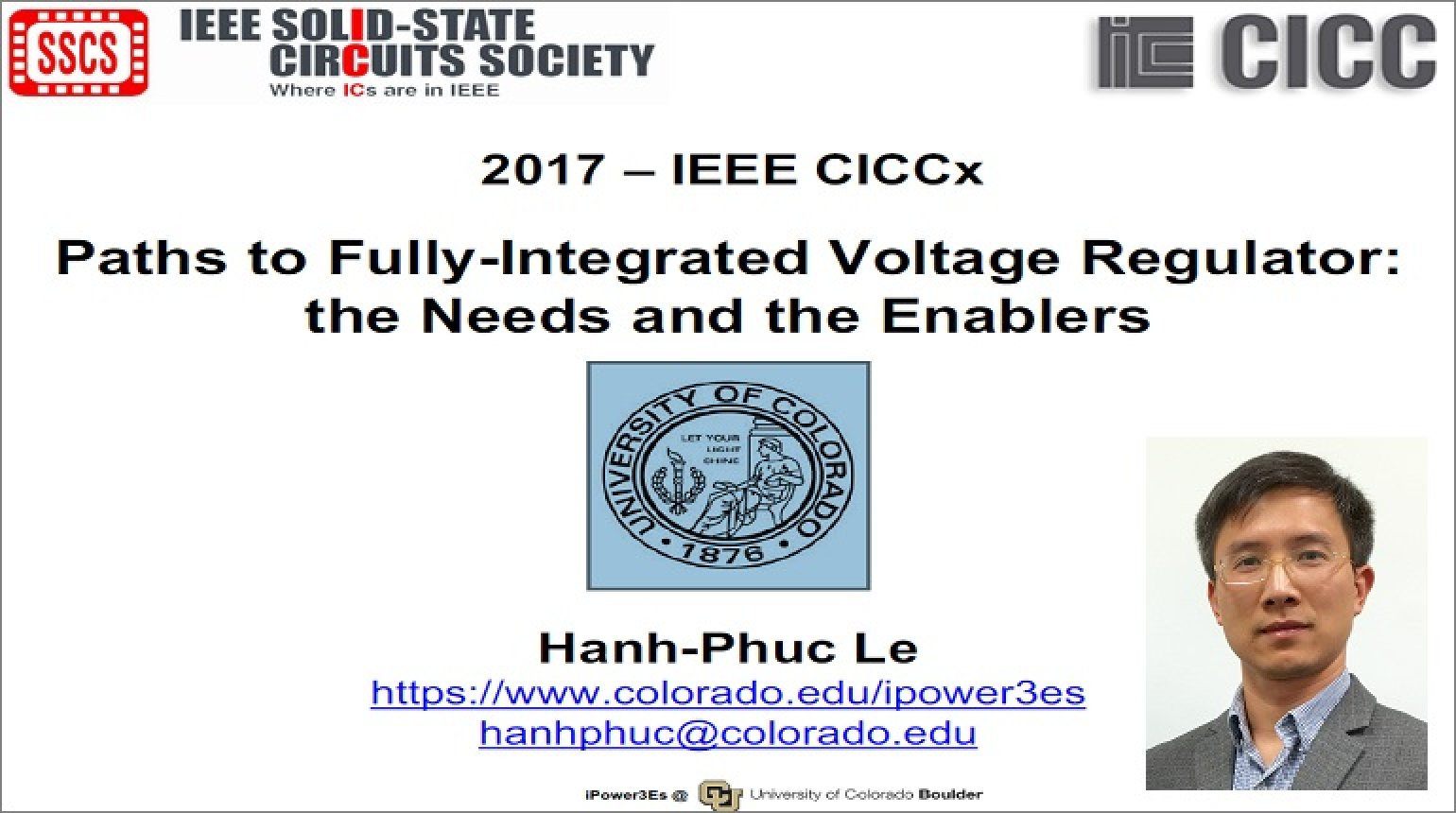 Paths to Fully-Integrated Voltage Regulator: the Needs and the Enablers Video
