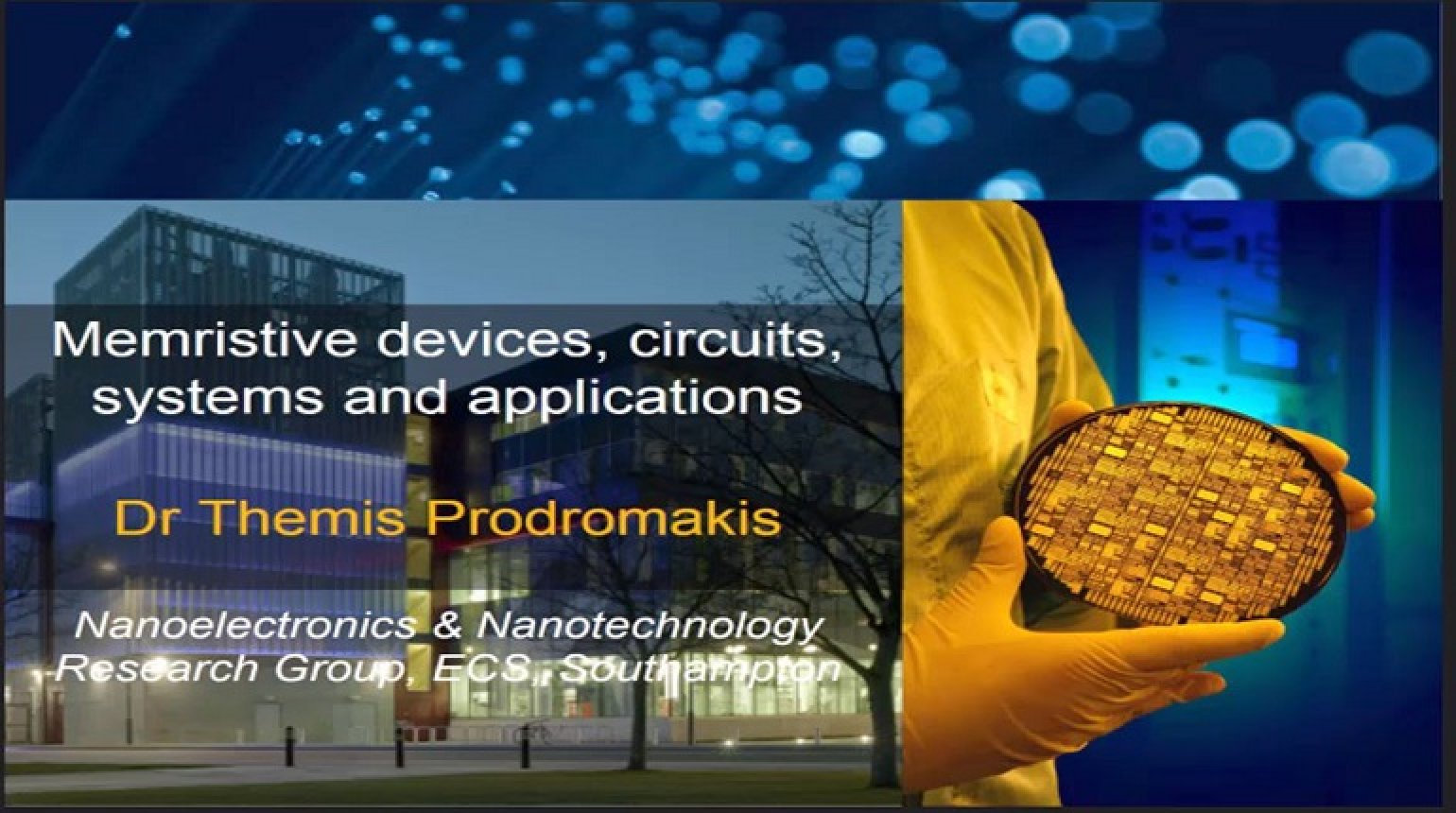 Memristive Devices, Circuits, Systems and Applications