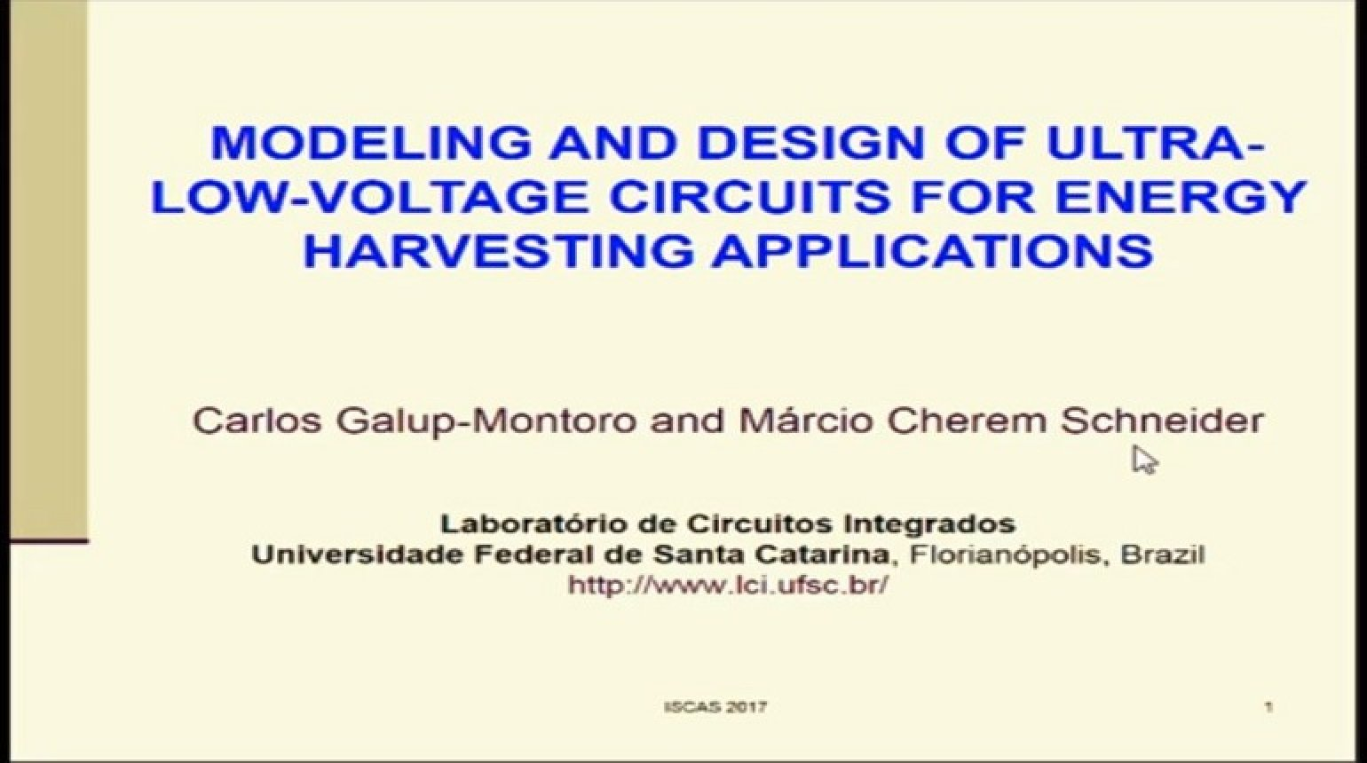 Modeling and Design of Ultra-Low-Voltage Circuits for Energy Harvesting Applications
