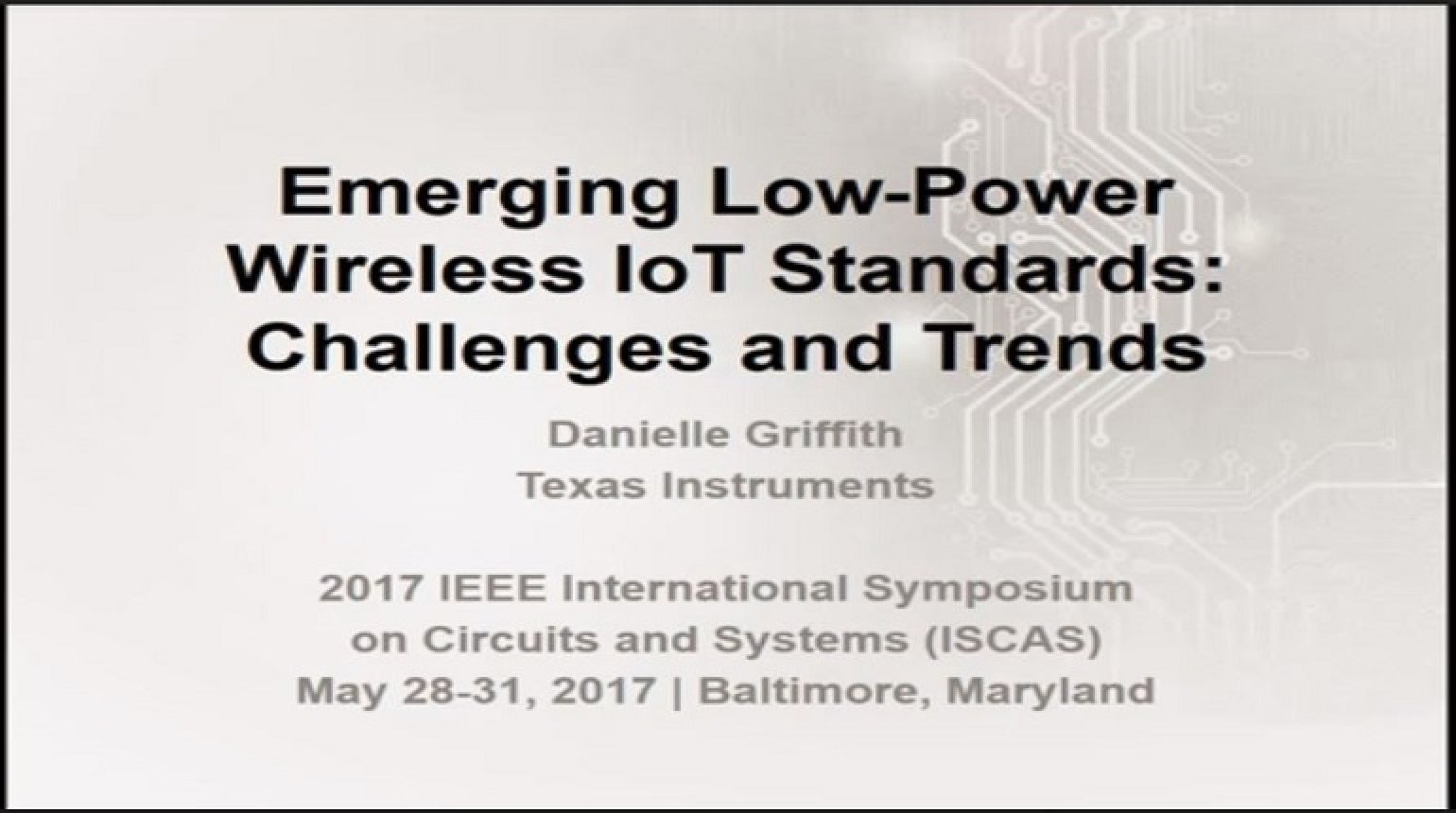 Emerging Low-Power Wireless IoT Standards: Challenges and Trends
