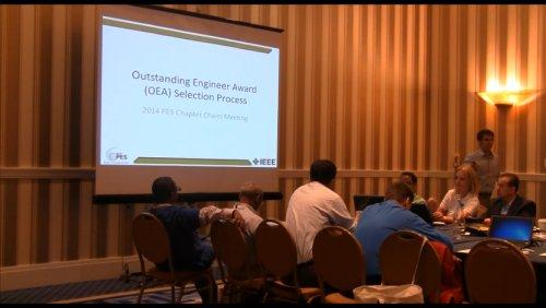 Outstanding Engineer Award (OEA) Selection Process (Video)