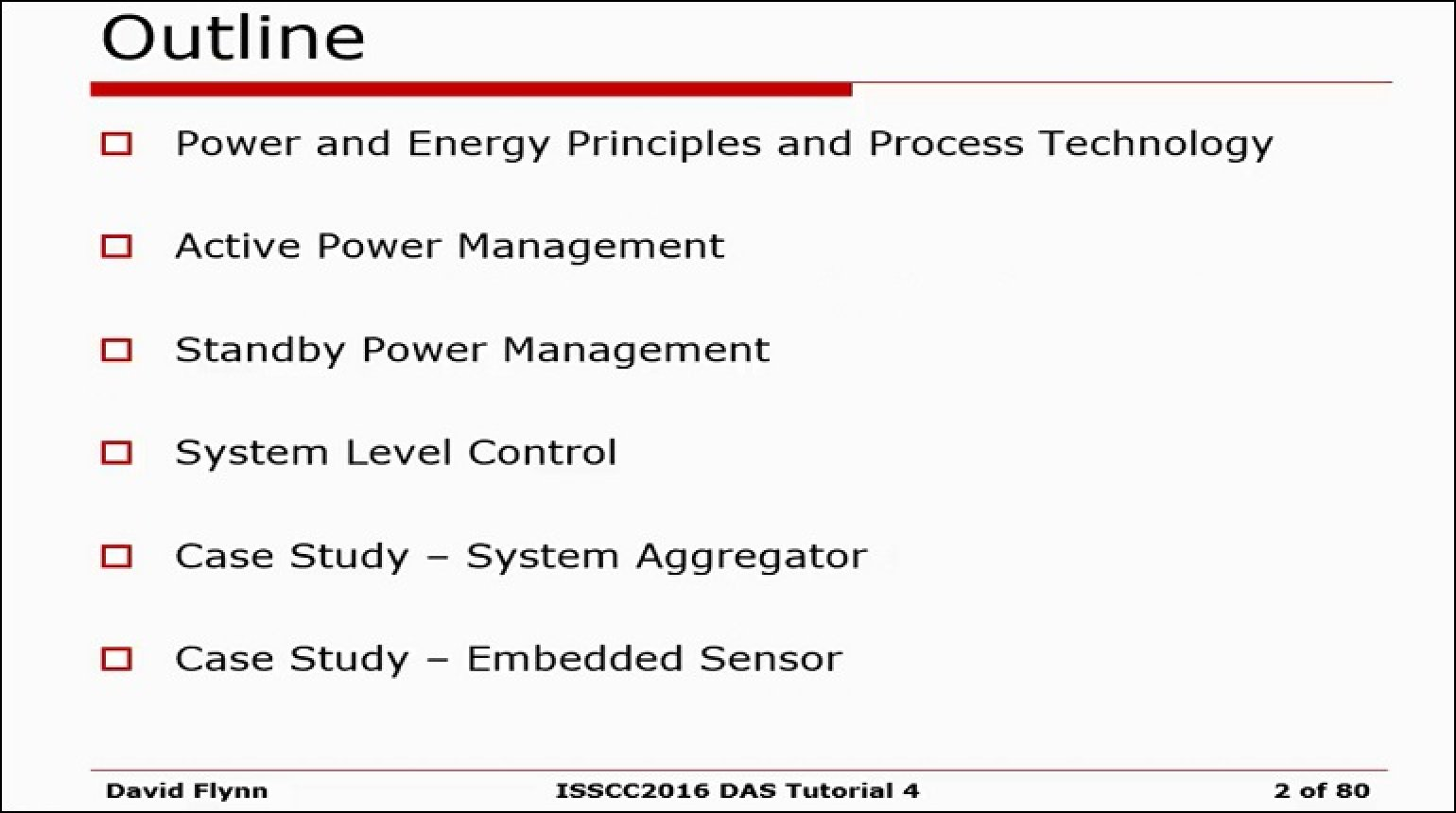 System Level Power-Management Techniques Video