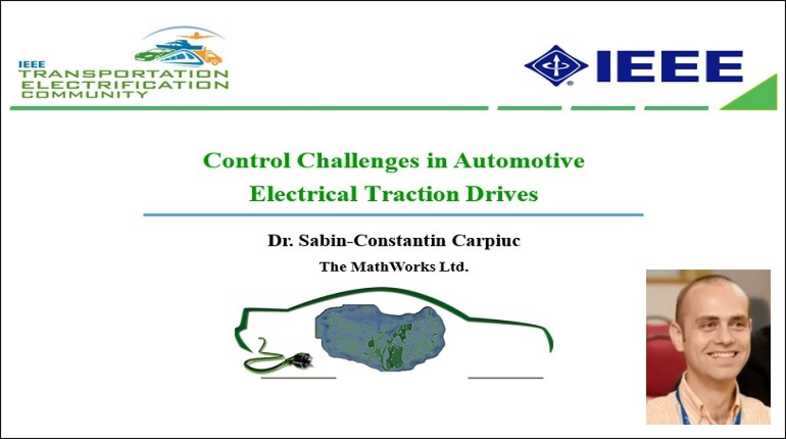 Video - Control Challenges in Automotive Electrical Traction Drives