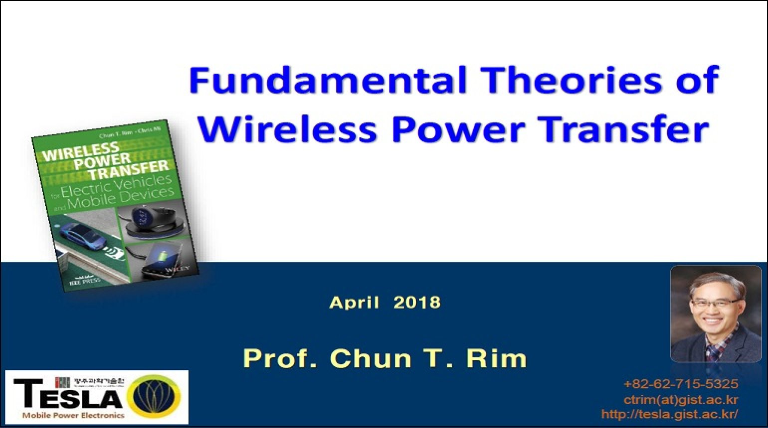 Fundamental Theories of Wireless Power Transfer Video