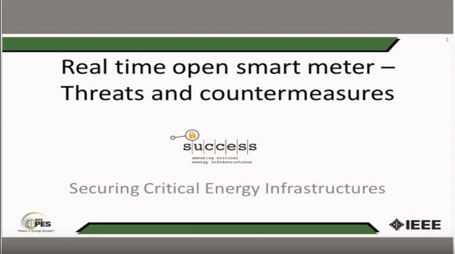 Real-time Open Smart Meter: Threats and Countermeasures