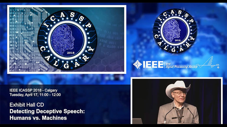 Plenary 1 - Detecting Deceptive Speech: Humans vs. Machines