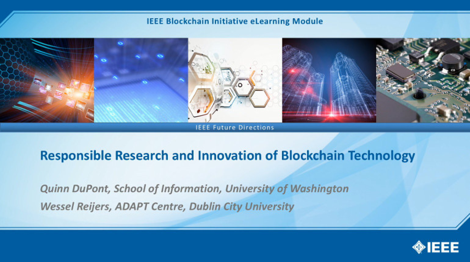 Responsible Research and Innovation of Blockchain Technology