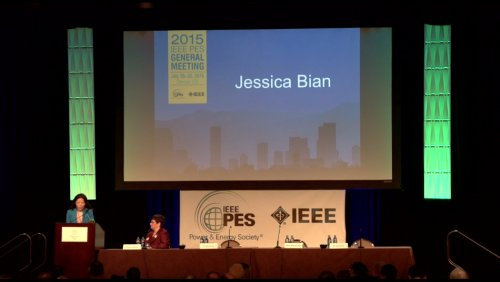 Candidate Speech Jessica Bian (Video)