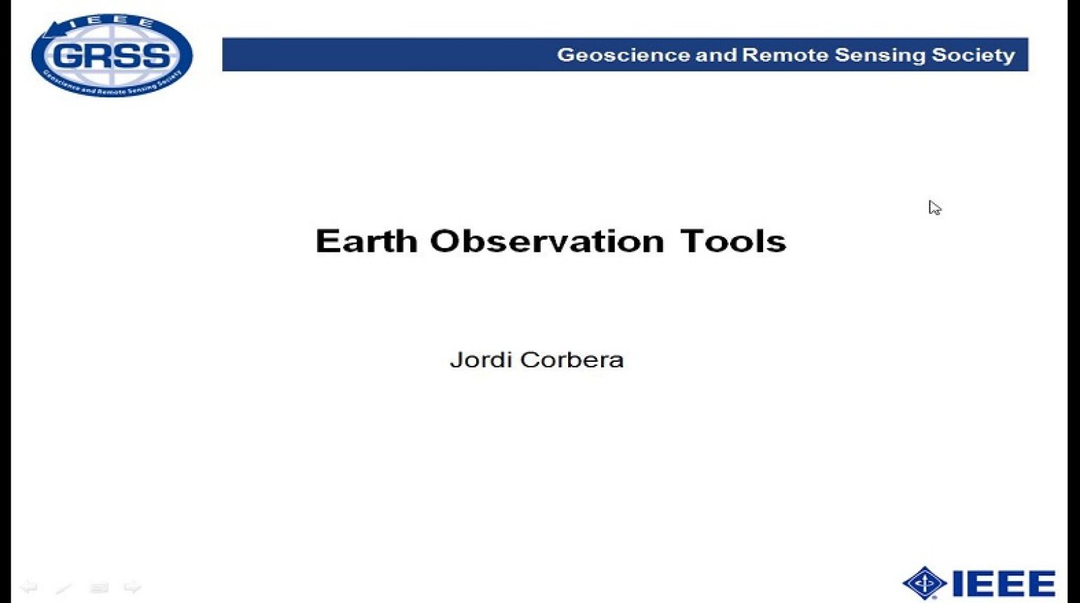 Earth Observation Tools
