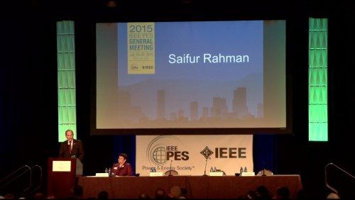 Candidate Speech Saifur Rahman (Video)