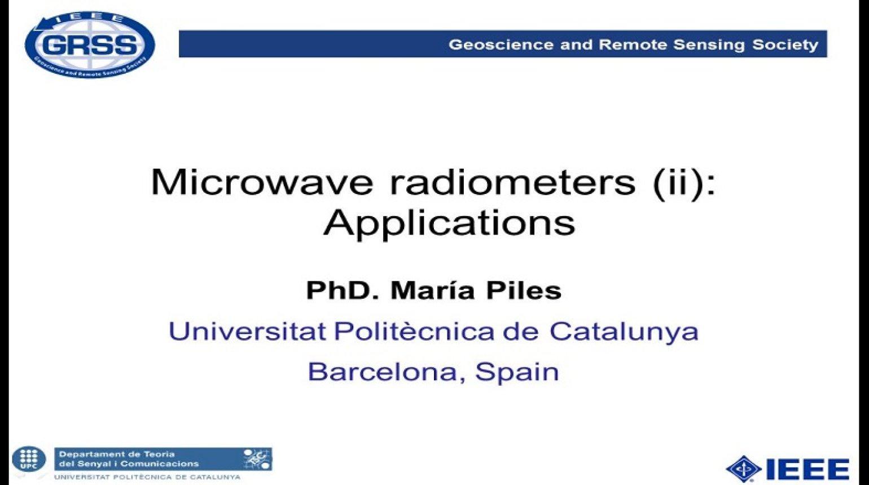 Microwave Radiometers 1: Principles, Technologies, and Sensors