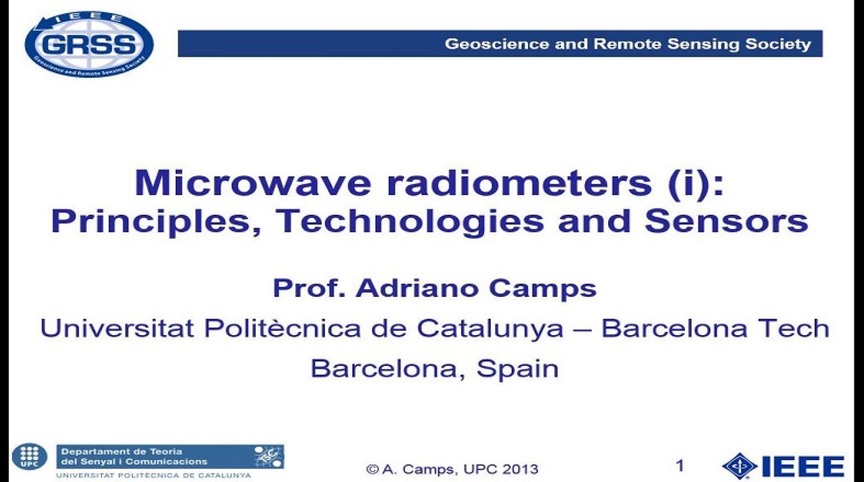 Microwave Radiometers 2: Applications