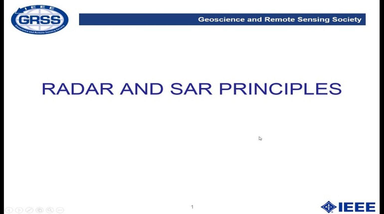 Radar and SAR Principles