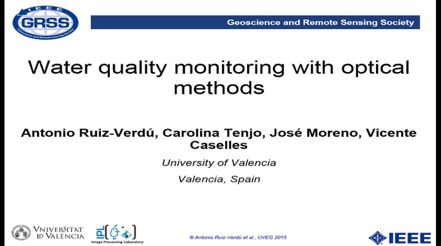 Water Quality Monitoring with Optical Methods