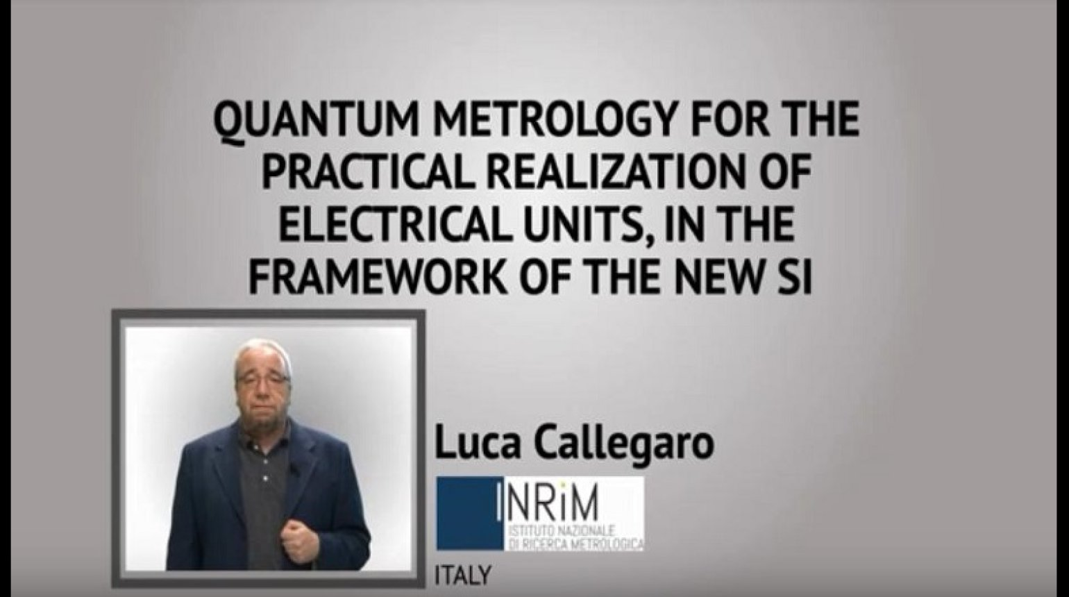 Quantum Metrology for the Practical Realization of Electrical Units, in the Framework of the New SI