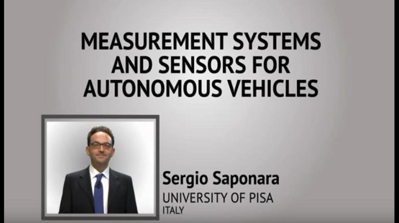 Measurement Systems and Sensors for Autonomous Vehicles