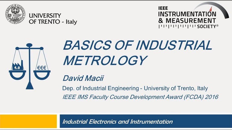 Basics of Industrial Metrology