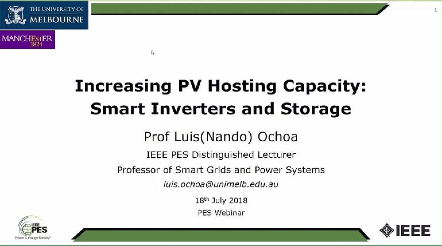 Increasing the PV Hosting Capacity of Distribution Networks: The role of Smart Inverters and Storage