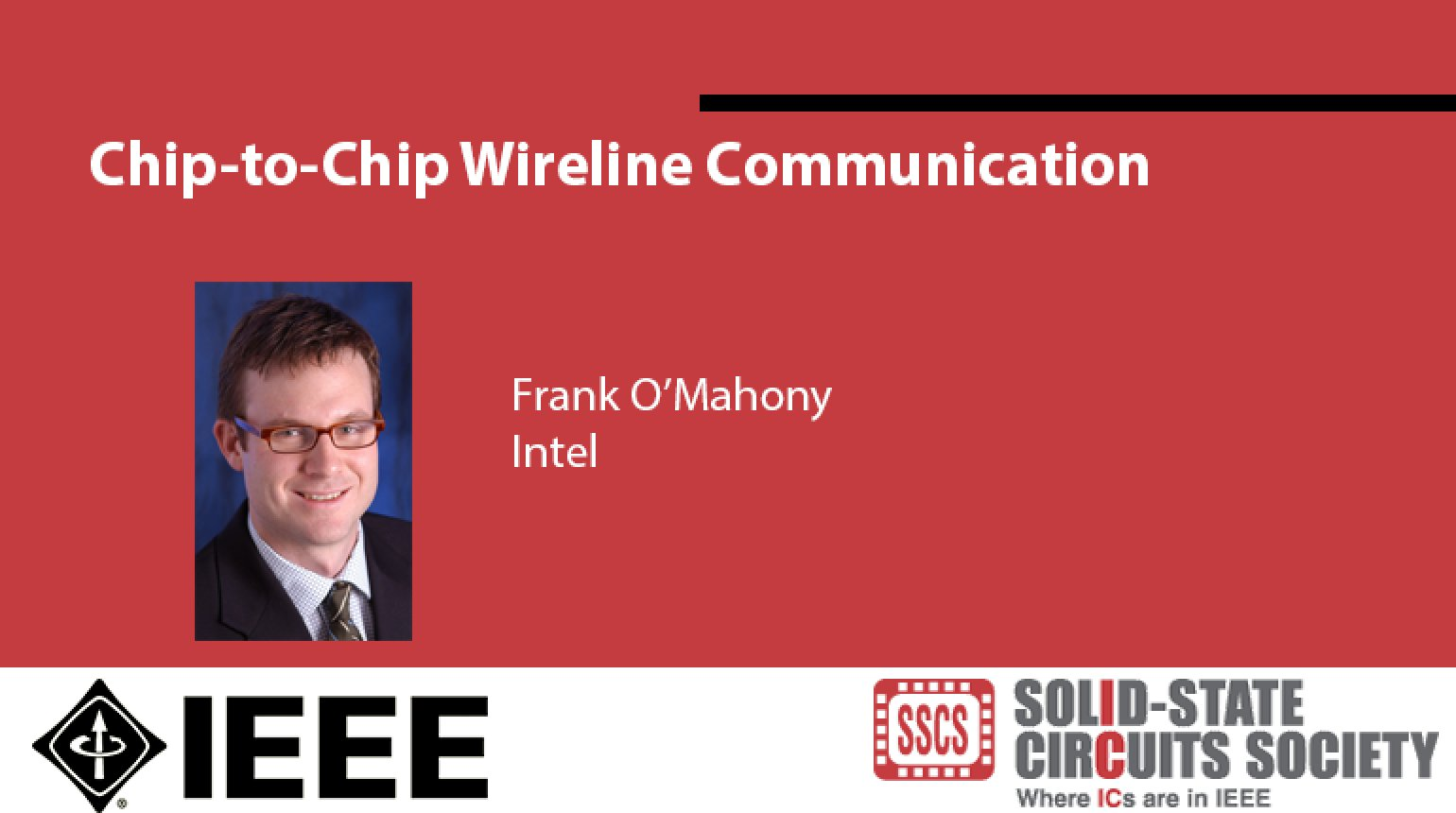 Chip-to-Chip Wireline Communication Video