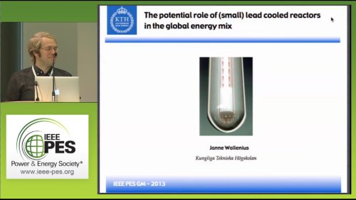 The potential role of (small) lead cooled reactors in the global energy mix (Video)