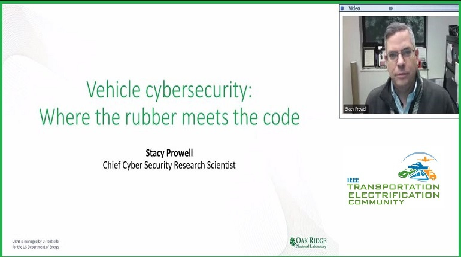 Video - Vehicle Cyber Security: Where the Rubber Meets the Code