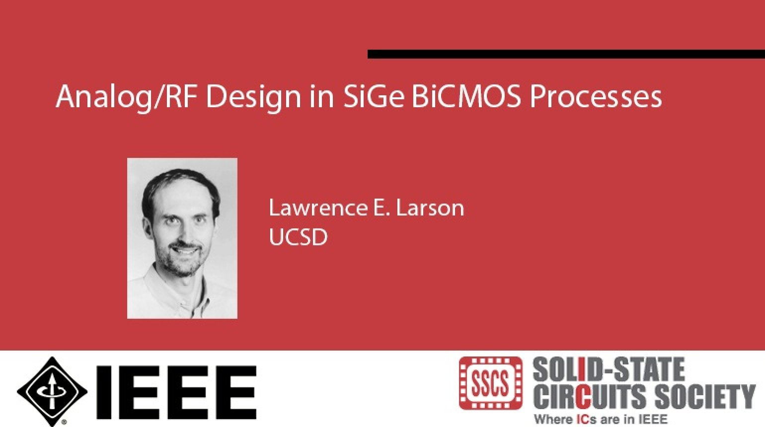 Analog/RF Design in SiGe BiCMOS Processes Video