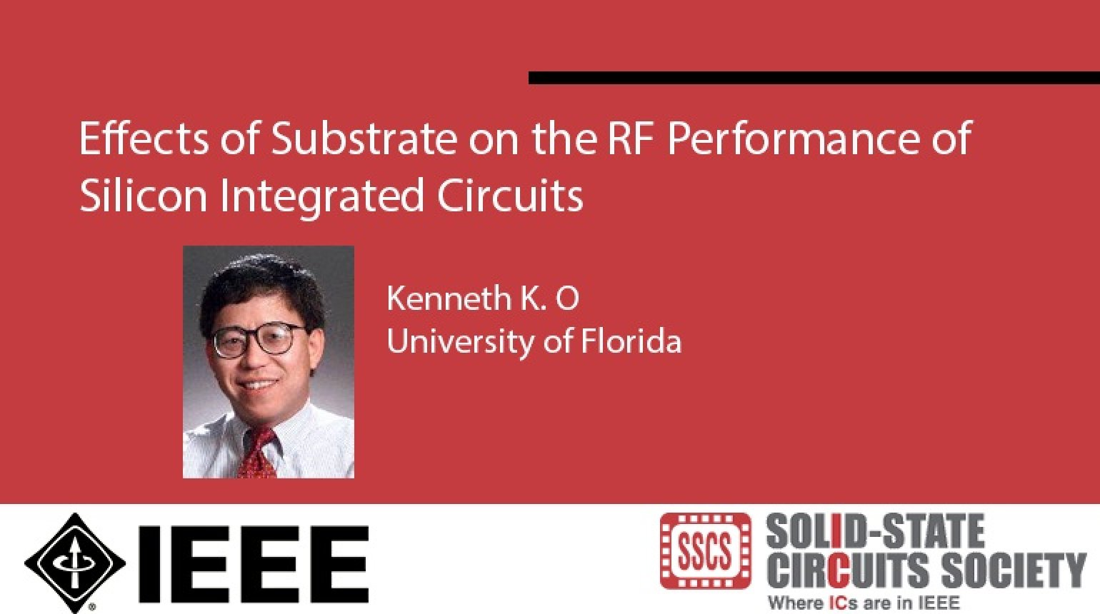 Effects of Substrate on the RF Performance of Silicon Integrated Circuits Video