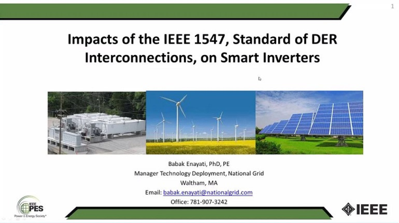 Impact of IEEE 1547 Standard on Smart Inverters
