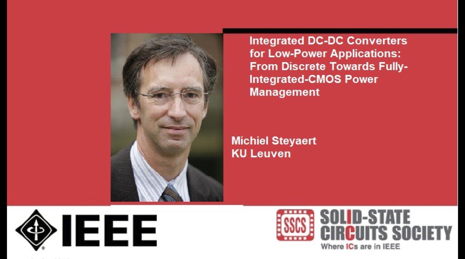 Integrated DC-DC Converters for Low-Power Applications: From Discrete Towards Fully-Integrated-CMOS Power Management Video
