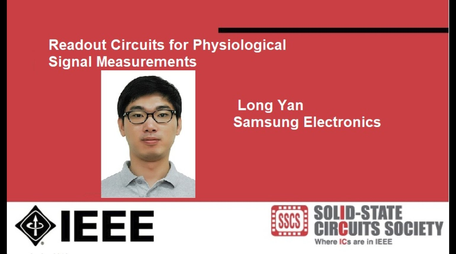 Readout Circuits for Physiological Signal Measurements Video