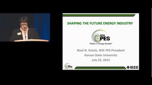 Shaping the Future Energy Industry (Video)
