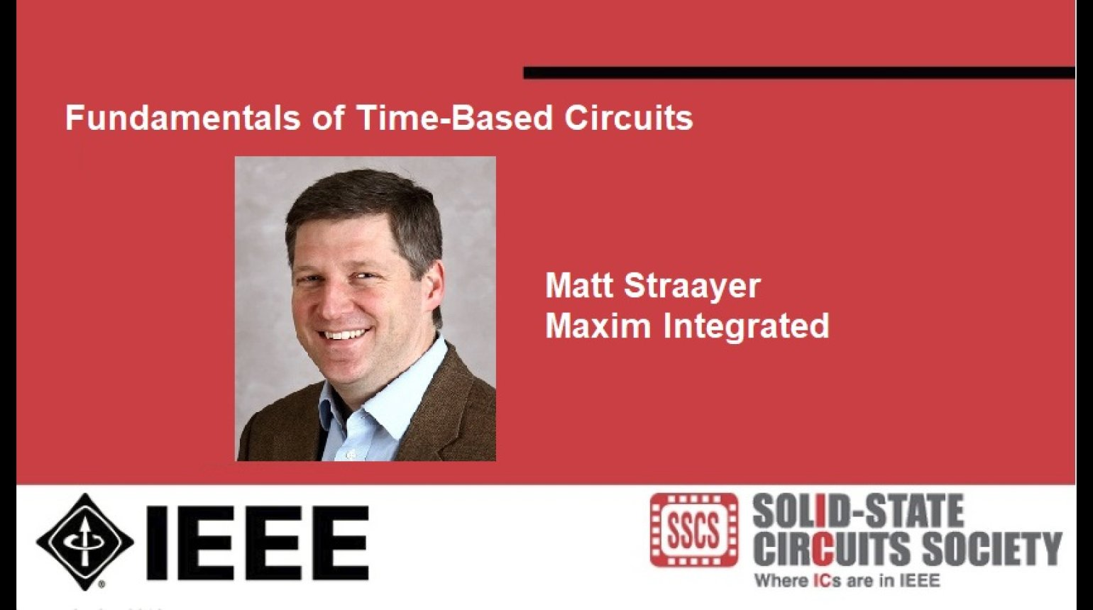 Fundamentals of Time-Based Circuits Video