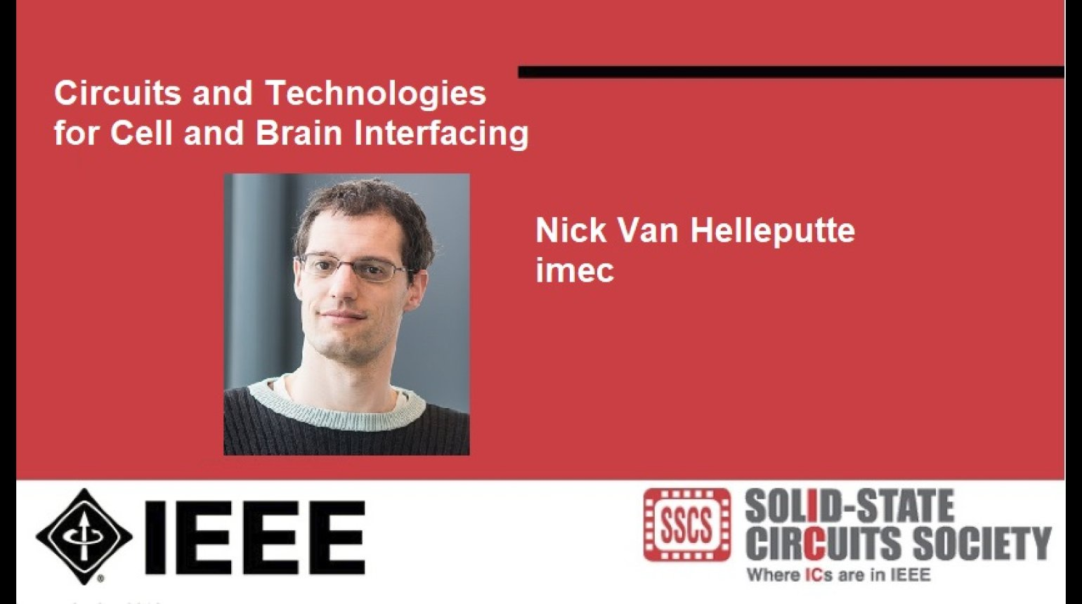 Circuits and Technologies for Cell and Brain Interfacing Video