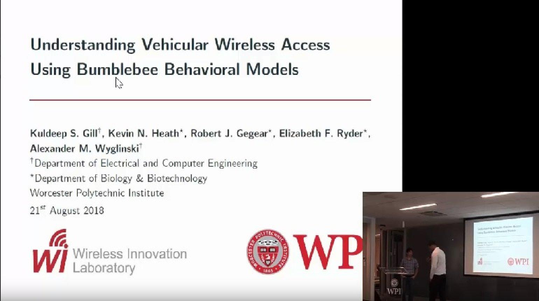 Video - Understanding Vehicular Wireless Access Using Bumblebee Behavioral Models - Gill, Heath