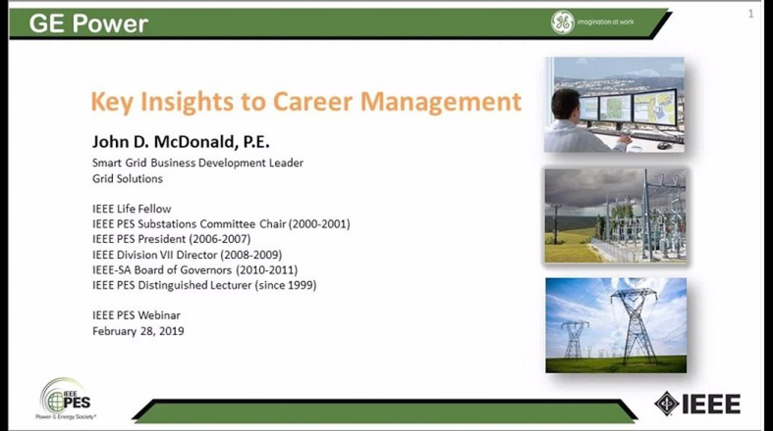 Key Insights to Career Management