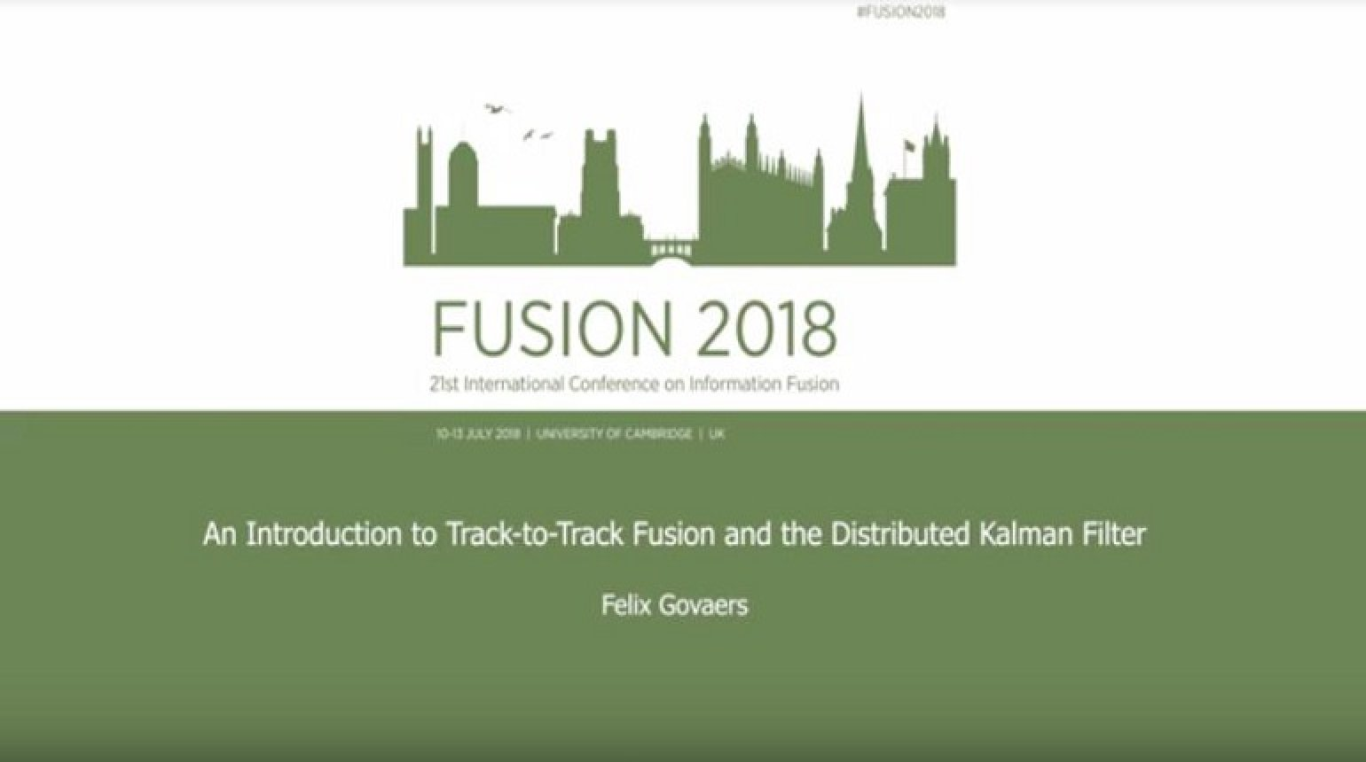 An Introduction to Track to Track Fusion and the Distributed Kalman