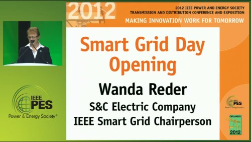 Smart Grid Day Opening (Video)