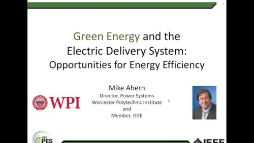 Green Energy and the Electric Delivery System: Opportunities for Energy Efficiency (Webinar)