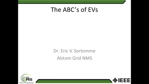 The ABC's of EVs (Webinar)