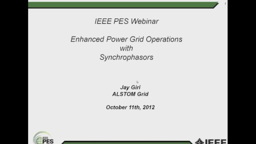 Enhanced Power Grid Operations with Synchrophasors (Video)