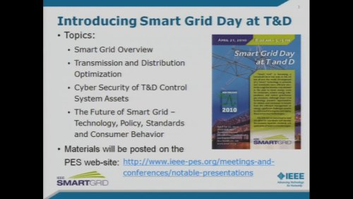 Introducing Smart Grid Day at T&D (Video)