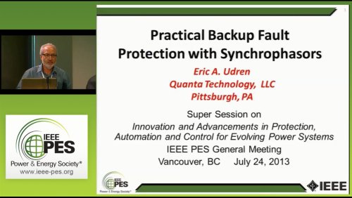 Practical Backup Fault Protection with Synchrophasors (Video)