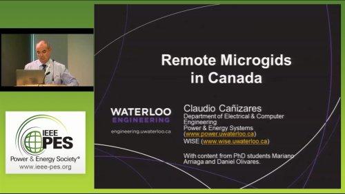 Remote Microgrids in Canada (Video)