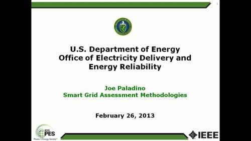 U.S. Department of Energy Office of Electricity Delivery and Energy Reliability (Video)