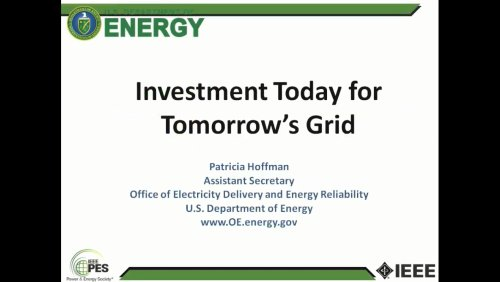 Investment Today for Tomorrow's Grid (Video)