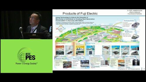 Fuji Electric's Yosuke Nakanshi (Video)