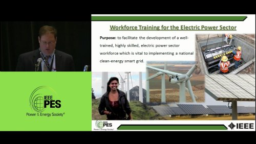 Workforce Training for the Electric Power Sector (Video)